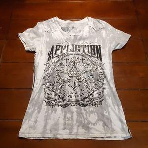 Womens Affliction shirt Large